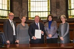 City of Melbourne signs IFI Interiors Declaration
