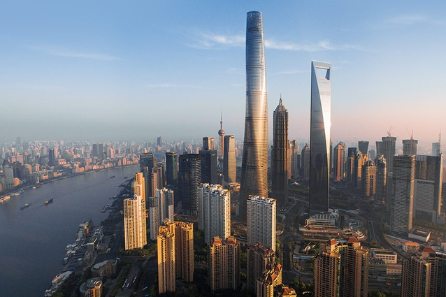 Shanghai Tower by Gensler was awarded Architectural Design of the Year in the 2016 American Architecture Prize.