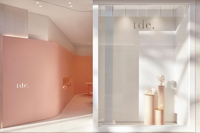 TDE. Melbourne Flagship by Pattern Studio.