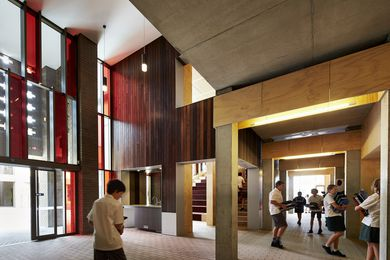 Bunbury Catholic College Mercy Campus by CODA Studio and Broderick Architects, joint venture.
