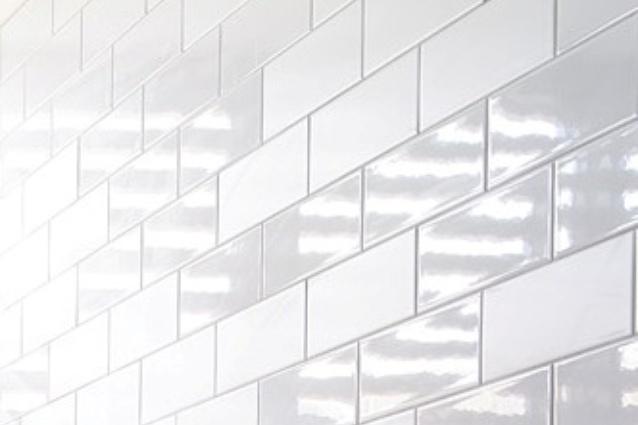 Ghiaccio tiles from Classic Ceramics.