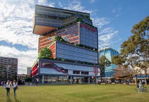 Proposed WSU Bankstown City Campus by Lyons.