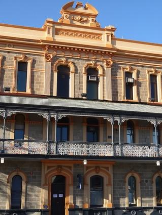 Adelaide's Newmarket Hotel, designed by Daniel Garlick.