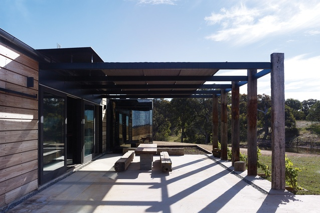 Hill Plains House by Wolveridge Architects.