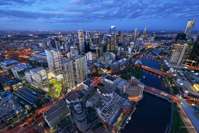 "Lend Lease's proposed Melbourne Quarter ""city precinct"" development."