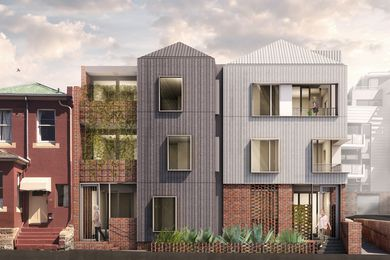 An affordable housing development on Goulburn Street in Hobart by Cumulus Studio.