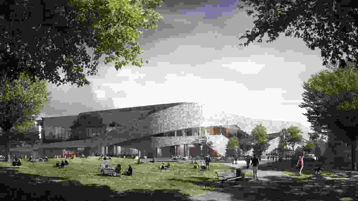 Christchurch Convention and Exhibition Centre by Woods Bagot.