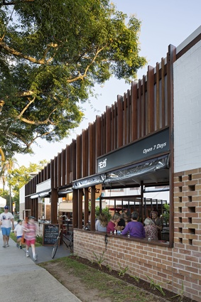 Baroona Road Mixed Use Redevelopment (Qld) by Shane Thompson Architects.