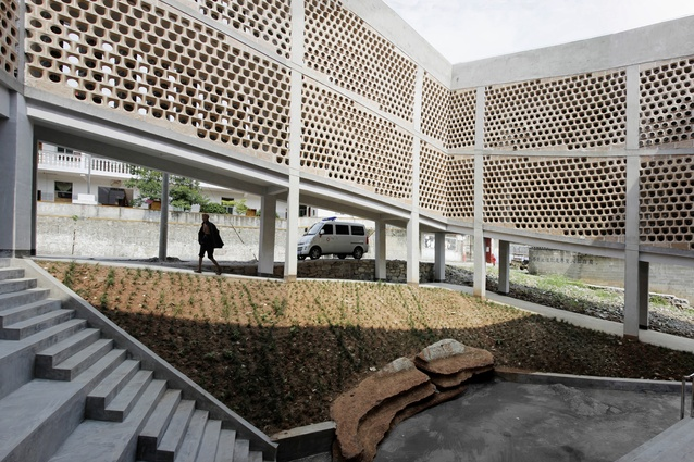 Andong Hospital Project by Rural Urban Framework.