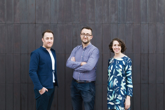 Trias is a collective of three highly accomplished individuals (from left): Jonathon Donnelly, Casey Bryant and Jennifer McMaster.