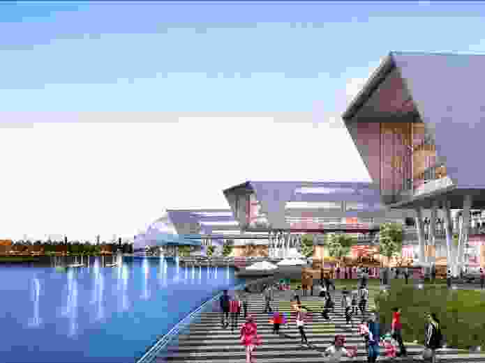 """The Australian Education City site describes the proposed city as having a """"20-minute neighbourhood philosophy."""""""