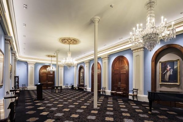 Queen Adelaide Room refurbishment by City of Adelaide and Swanbury Penglase Architects.
