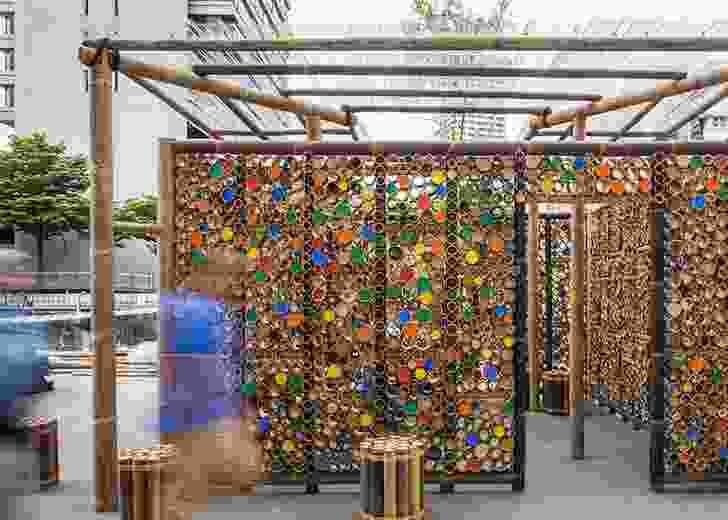 Bamboo Pavilion by Eleena Jamil Architect.