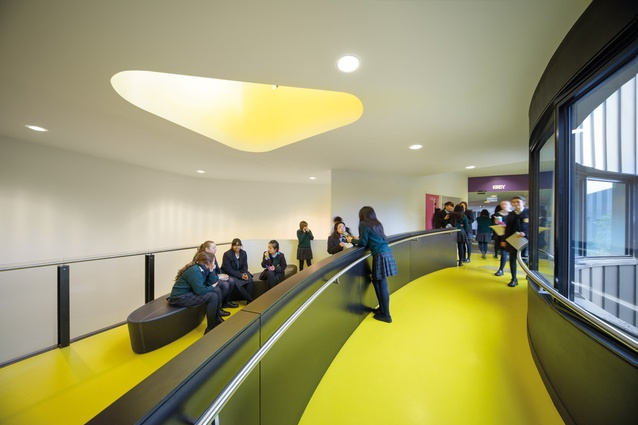 """Breakout areas along the """"knowledge loop."""""""