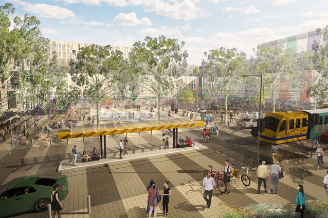 Unley Central Precinct Plan by TCL with City of Unley.