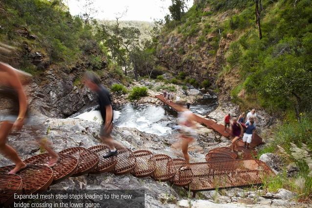 MacKenzie Falls Gorge Trail by Hansen Partnership, Australia.