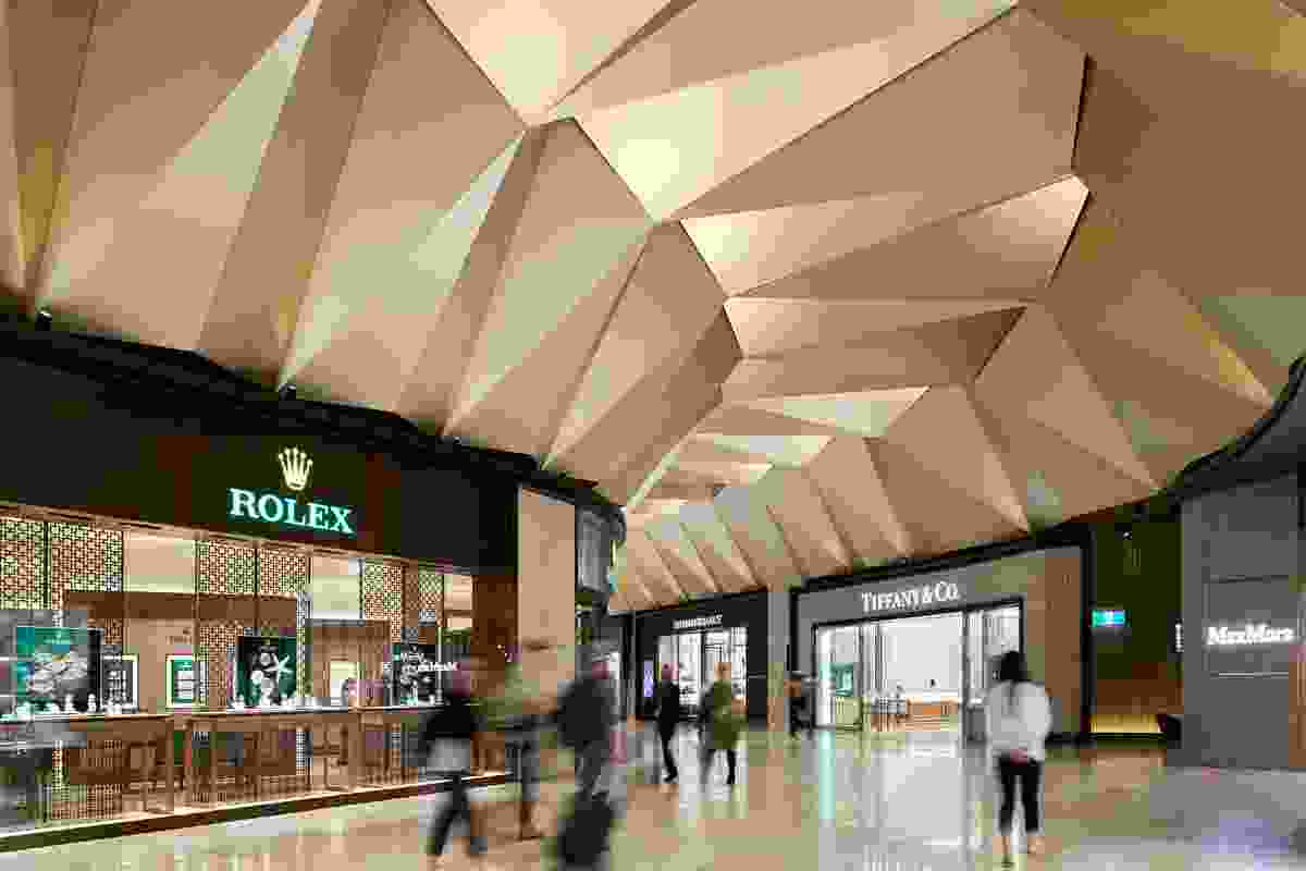 T2 Departures – Luxury Retail by NH Architecture.