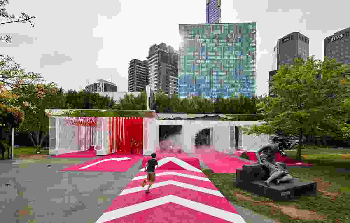 The 2016 NGV Architecture Commission Haven't you always wanted…? by M@ Studio Architects.