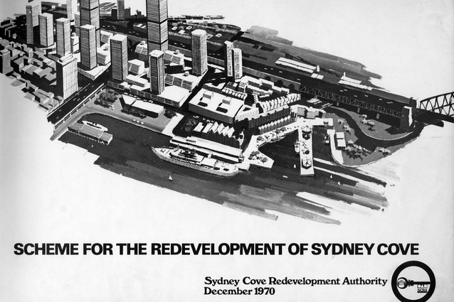 The Rocks, 1970 scheme as adopted by the NSW government.