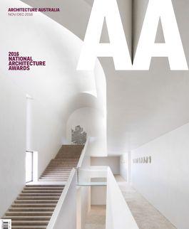Architecture Australia, November 2016