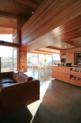 Housing category winner: The Wanaka House, Wanaka by Lovell and O'Connell Architects.