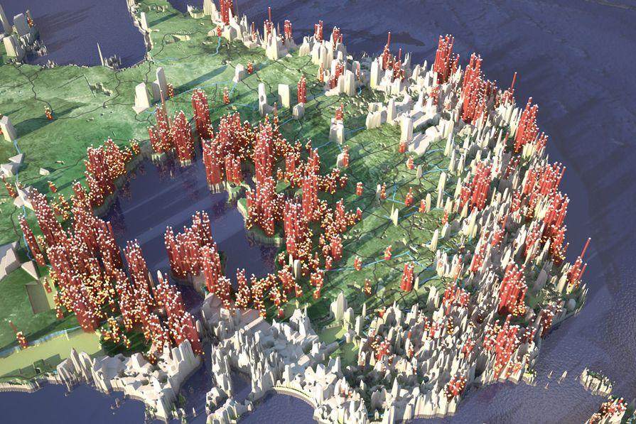 Proposition for Venice Biennale 2010.