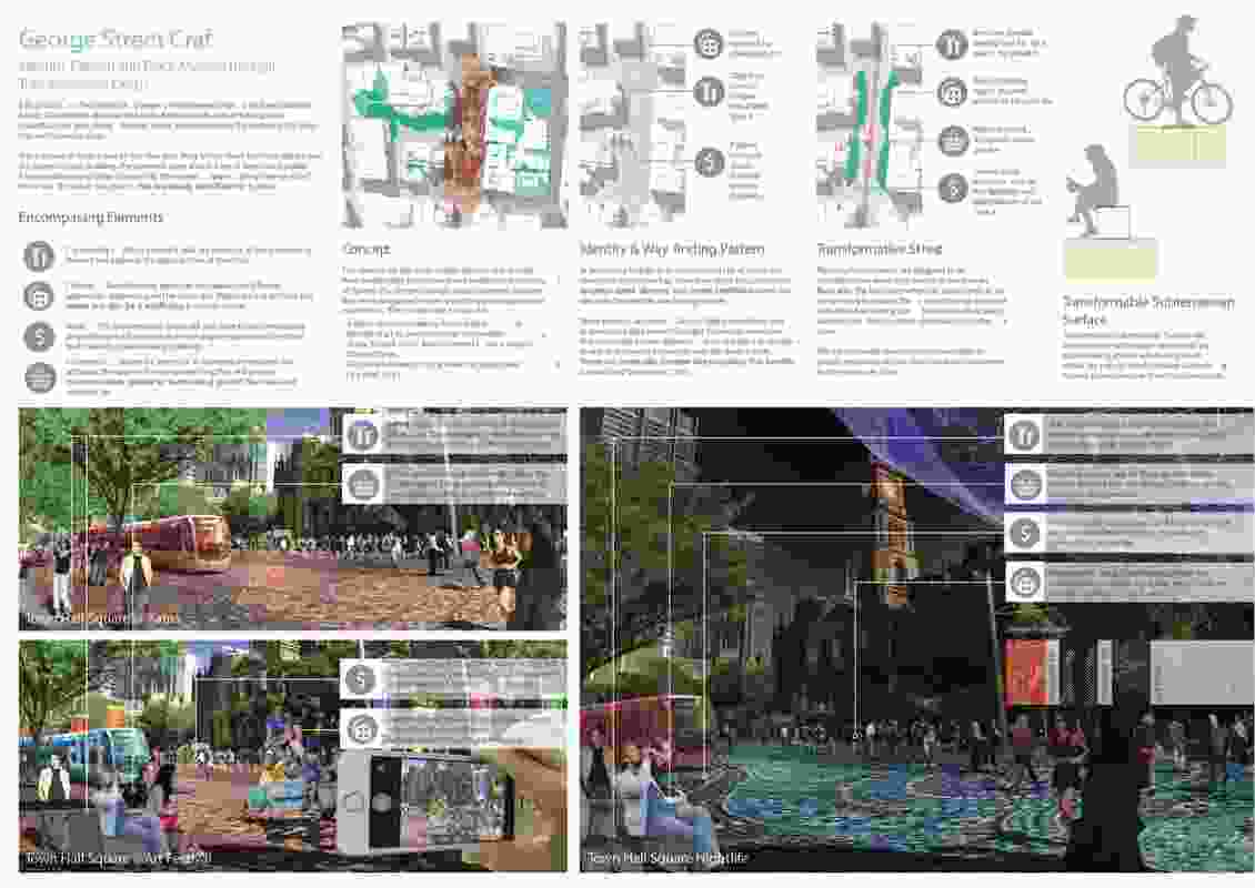 Urban Street Craft by Christian Vitulli, landscape architect at Site Image.