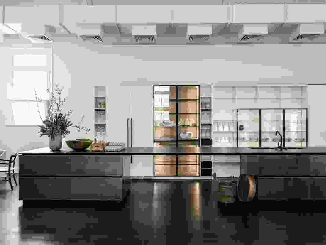 Boffi's Melbourne showroom.