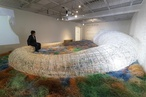 Kengo Kuma unveils sea cucumber-inspired installation for Design Canberra Festival