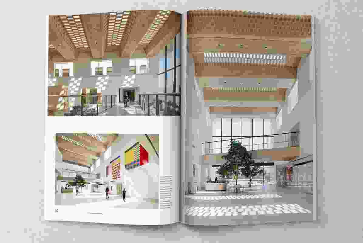 Bendigo Hospital designed by Silver Thomas Hanley in collaboration with Bates Smart.
