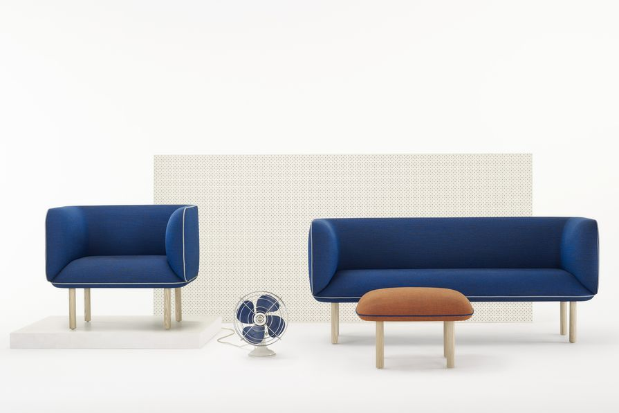 Zenith Interiors has launched a Tom Fereday-designed range of seating, Wes.