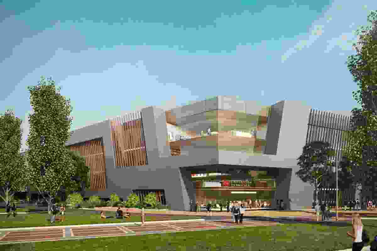 The University of Tasmania first revealed concept plans for a new Inveresk campus in 2015.