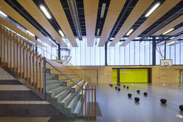 Australian Defence Force Academy – New Indoor Sports Centre by HDR | Rice Daubney.