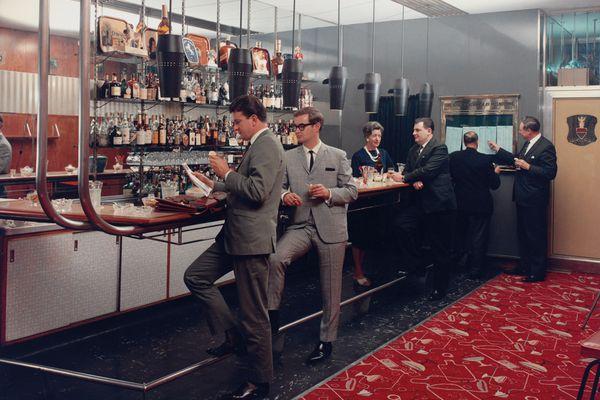 Wolfgang Sievers, Club Bar, Menzies Hotel, Melbourne, 1965, chromogenic photograph.