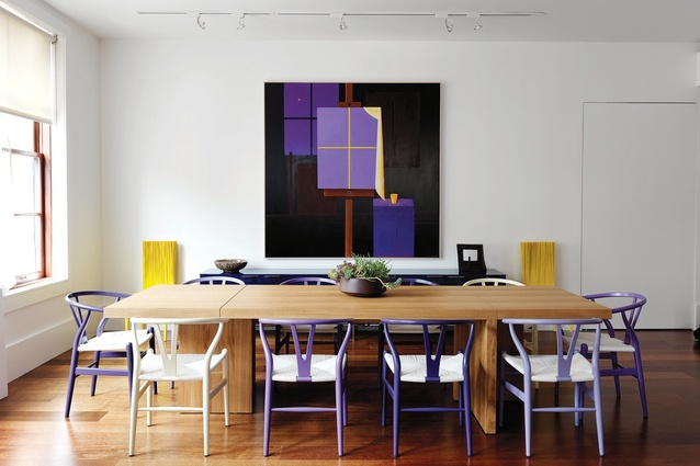 2013 Residential Decoration and Best international Design awards: Tribeca Loft by Nexus Designs.