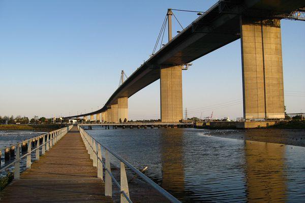 Melbourne's West Gate Bridge.