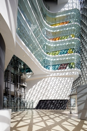 South Australian Health and Medical Research Institute (SAHMRI) by Woods Bagot.