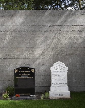 Within the walls of In Memory, tombstones of different styles and faiths sit side by side, their names removed.