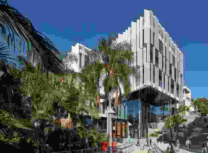 The Jennifer Taylor Award for Educational Architecture: Queensland University of Technology, Peter Coaldrake Education Precinct by Wilson Architects and Henning Larsen Architects, Architects in Association.