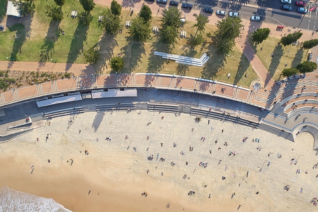 Coogee Beach Centre by Brewster Hjorth Architects, winner of the Waterfront category.