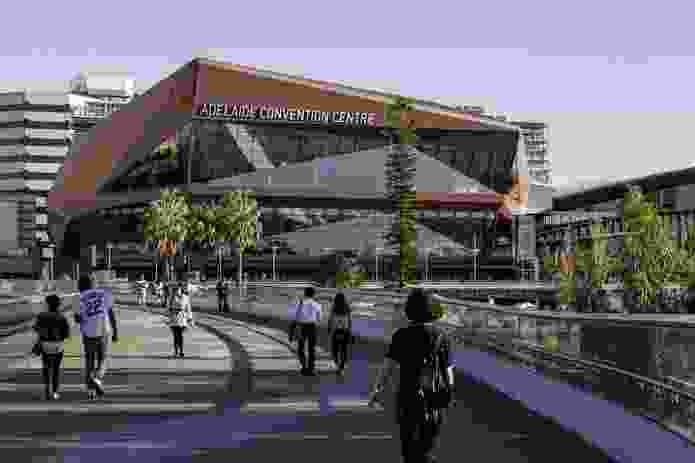Adelaide Convention Centre Redevelopment: East by Woods Bagot.