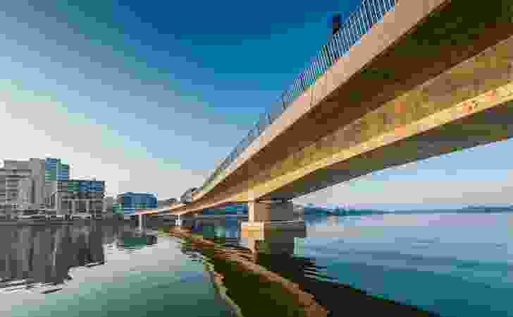 Bennelong Bridge by Scott Carver Architects.