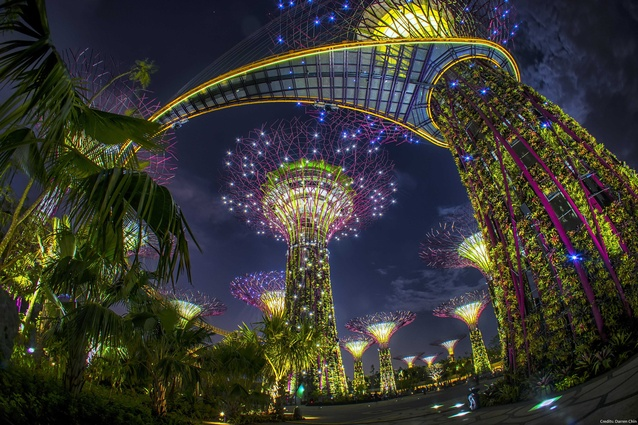 Gardens by the Bay by Grant Associates, Singapore.