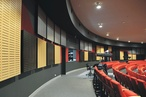 Supacoustic NCK wall panels were specified for a Central Coast school's performing arts theatre