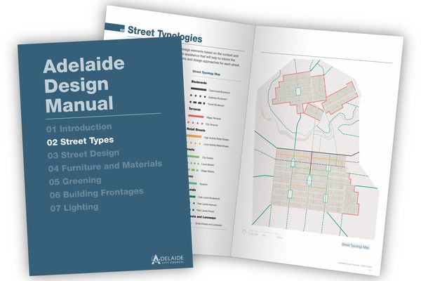 The Adelaide Design Manual by Design and Strategy, Adelaide City Council.