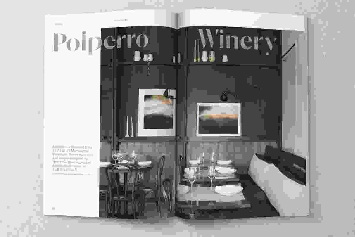 Polperro Winery by Hecker Guthrie.