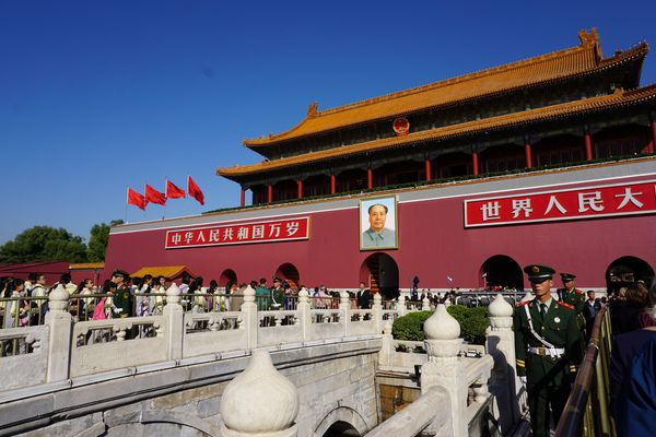 The Forbidden City Imperial Palace in Beijing.