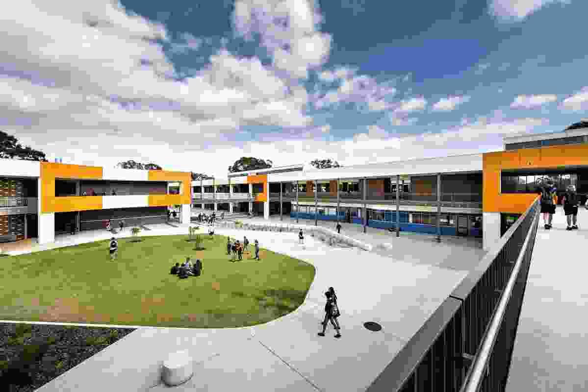 Governor Stirling Senior High School by Donaldson + Warn  Architects.