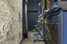 2001: A Space Odyssey meets The Great Gatsby: Australia's first capsule hotel opens in Sydney