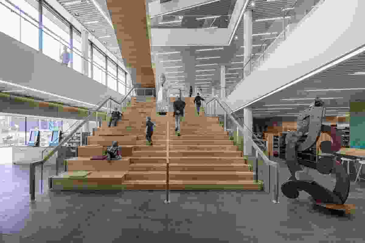 Finalist: Interior Architecture – Tūranga by Architectus and Schmidt Hammer Lassen Architects.